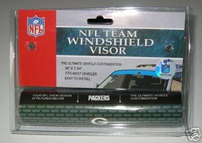 Green Bay Packers NFL Car Winshield Sun Visor Logo Film Gift