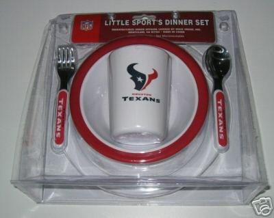 Houston Texans Baby Kids Dinner Set Gift