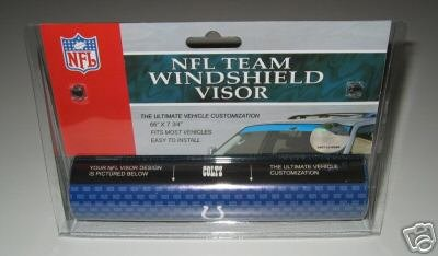Indianapolis Colts NFL Car Winshield Sun Visor Logo Film Gift