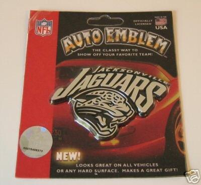 Jacksonville Jaguars Chrome Auto Car Emblem Logo Gift