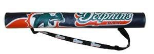 Miami Dolphins 6-Pack Can Shaft Cooler w/Strap Gift