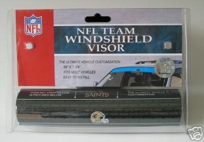 New Orleans Saints NFL Car Winshield Sun Visor Logo Film Gift