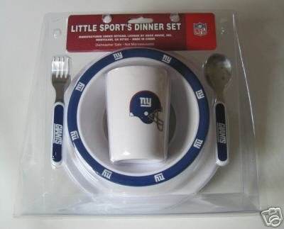 New York Giants Baby Kids Dinner Set Gift