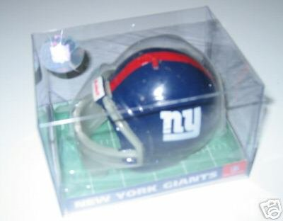 New York Giants SporTop Football Helmet Candle Medium Gift