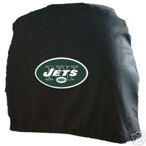 New York Jets Auto Car Head Rest Covers Set Gift