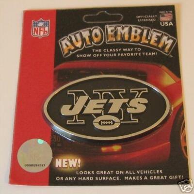 New York Jets Chrome Auto Car Emblem Logo Gift