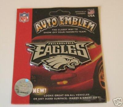 Philadelphia Eagles Chrome Auto Car Emblem Logo Gift
