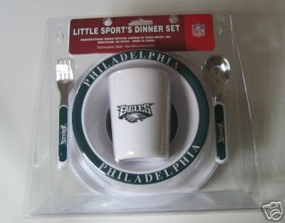 Philadelphia Eagles Baby Kids Dinner Set Gift