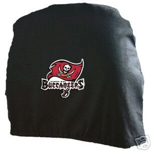 Tampa Bay Buccaneers Auto Car Head Rest Covers Set Gift