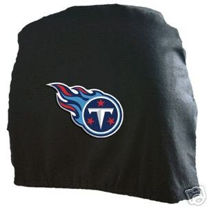 Tennessee Titans Auto Car Head Rest Covers Set Gift