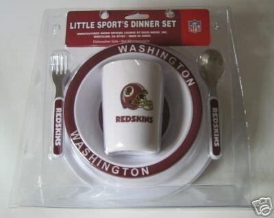 Washington Redskins Baby Kids Dinner Set Gift