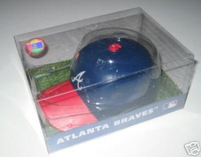 Atlanta Braves SporTop Baseball Cap Candle Large Gift