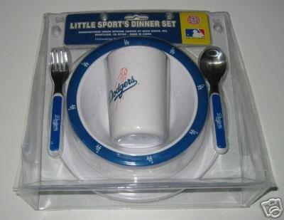 Los Angeles Dodgers Baby Kids Dinner Set Gift