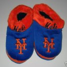 New York Mets Fuzzy Slide On Slippers Gift