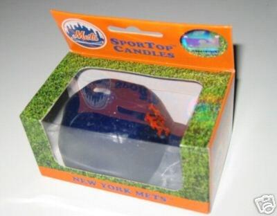 New York Mets SporTop Baseball Cap Candle Medium Gift