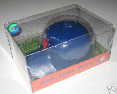 New York Mets SporTop Baseball Cap Candle Large Gift
