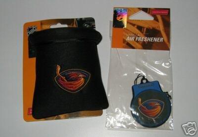 Atlanta Thrashers Auto Car Pouch Organizer + Air Freshener Set Gift