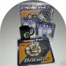 Boston Bruins Hockey 4pc Gift Net Basket
