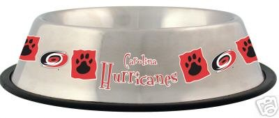 Carolina Hurricanes Pet Dog 32oz Stainless Steel Bowl Gift