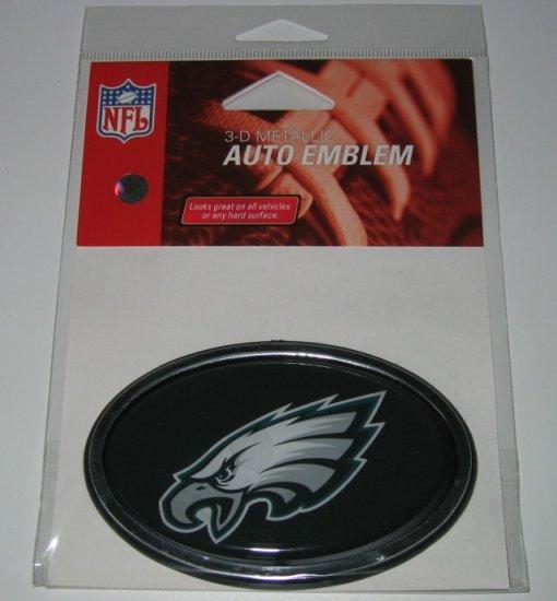Philadelphia Eagles 3-D Color Chrome Auto Car Emblem Gift