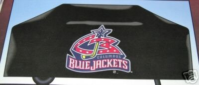 Columbus Blue Jackets BBQ Barbecue Grill Cover Gift