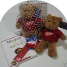 Detroit Red Wings Women's 4pc Hockey Gift Net Basket