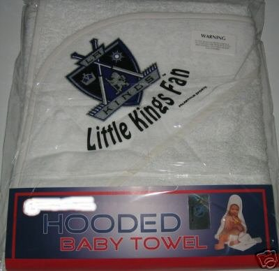 Los Angeles Kings Hooded Baby Towel Beach Cover Up Gift