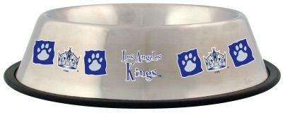 Los Angeles Kings 32oz Stainless Steel Pet Dog Food Water Bowl Gift