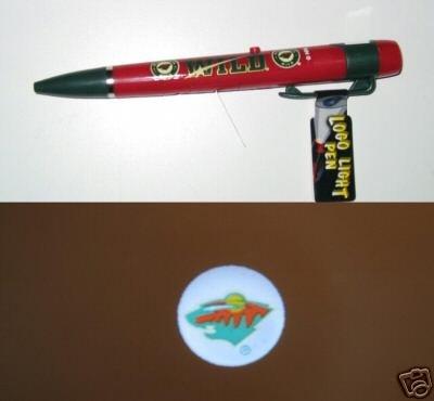Minnesota Wild Logo Light Pen Gift