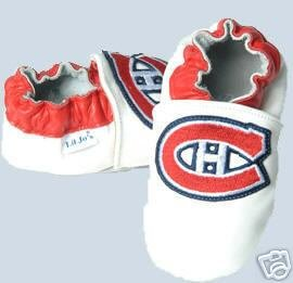 Montreal Canadiens Leather Baby Shoes Booties Gift