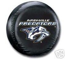 Nashville Predators Black Spare Car Tire Cover Gift