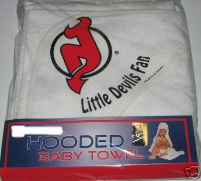 New Jersey Devils Hooded Baby Towel Beach Cover Up Gift