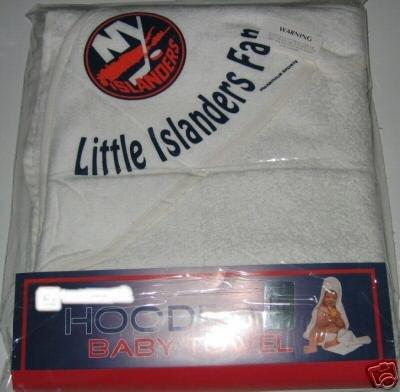 New York Islanders Hooded Baby Towel Beach Cover Up Gift