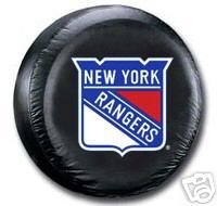 NY New York Rangers Black Spare Car Tire Cover Gift