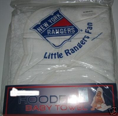 New York Rangers Hooded Baby Towel Beach Cover Up Gift