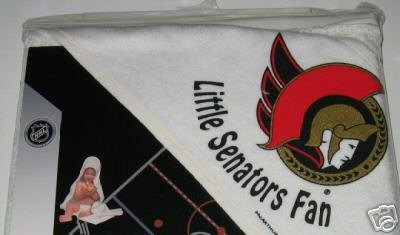 Ottawa Senators Hooded Baby Towel Beach Cover Up Gift