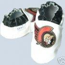 Ottawa Senators Leather Baby Shoes Booties ALL SIZES Gift