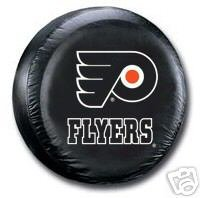 Philadelphia Flyers Black Spare Auto Car Tire Cover Gift
