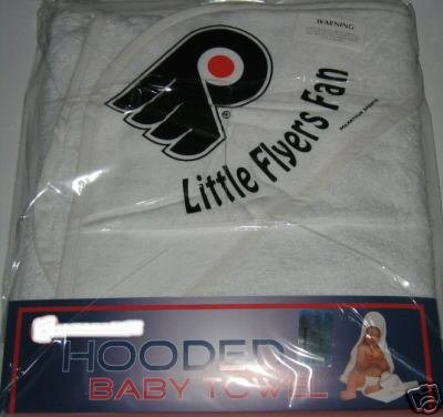 Philadelphia Flyers Hooded Baby Towel Beach Cover Up Gift
