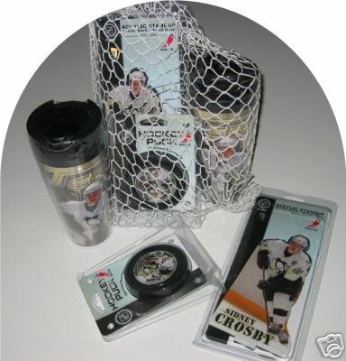 Sidney Crosby Pittsburgh Penguins 4pc Gift Net Basket