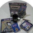 Pittsburgh Penguins 5pc Hockey Gift Net Basket