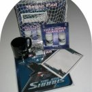 San Jose Sharks 5pc Hockey Gift Net Basket