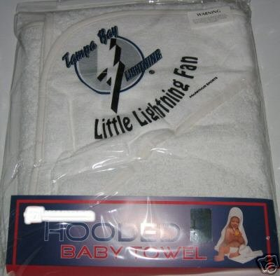 Tampa Bay Lightning Hooded Baby Towel Beach Cover Up Gift