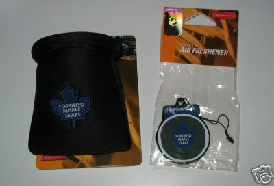 Toronto Maple Leafs Auto Car Pouch Organizer & Air Freshener Set Gift