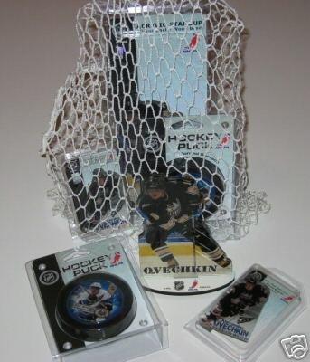 Alexander Ovechkin Capitals 4pc Hockey Gift Net Basket