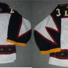 03/04 Kari Lehtonen Atlanta Thrashers Game Worn Rookie Jersey 2 Patches MeiGray COA - FREE SHIP