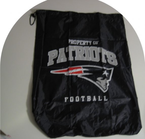 New England Patriots Laundry Bag Travel Sack Sports Gift
