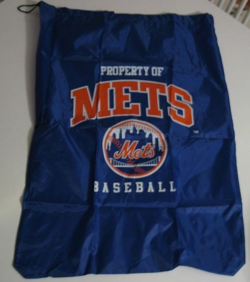 New York Mets Laundry Bag Travel Sack Sports Gift