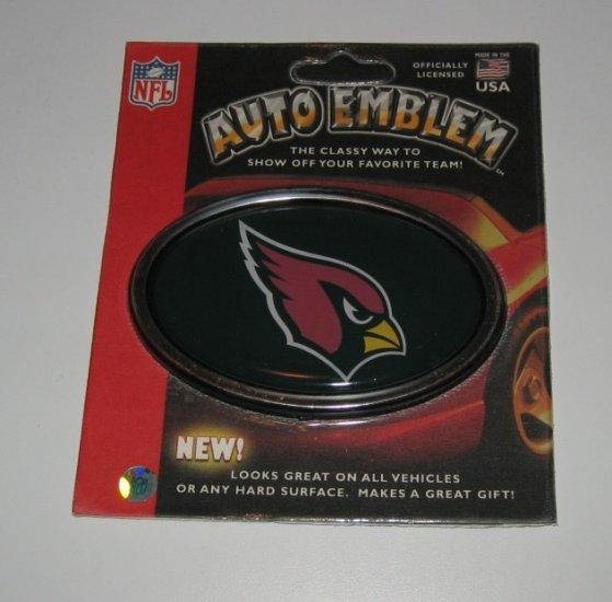 Arizona Cardinals 3-D Color Chrome Auto Car Emblem Gift