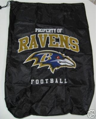 Baltimore Ravens Laundry Bag Travel Sack Gift